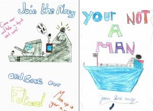 Work created by year 5 children from Leesland Junior School