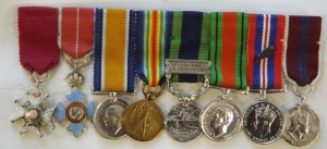 The medals shown have all been awarded to Walter John Seward