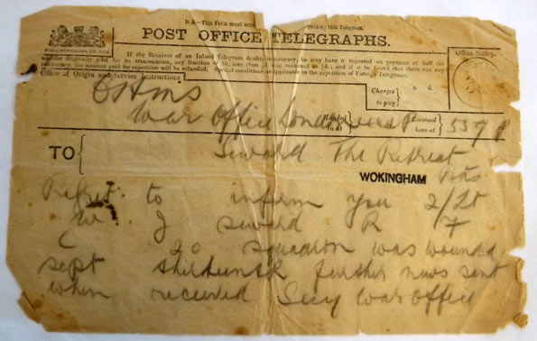 War telegram