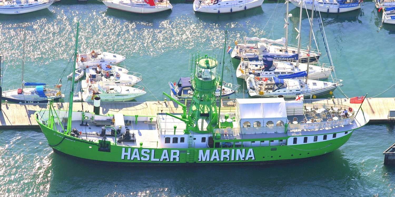 Haslar Marina Lightship: Mary Mouse II (Event from 2015)