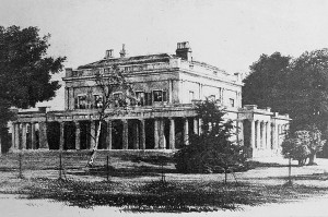 Bury Hall, c.1815-1945/46.