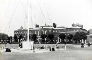 Parade ground & main block at St Vincent, undated. Credits to original photographer.