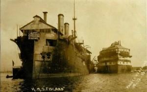 HMS FISGARD (Gosport 1904-1932)