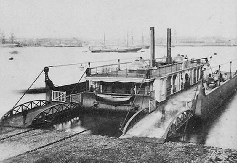 Victoria (formerly No.1) at point, pre-1865.