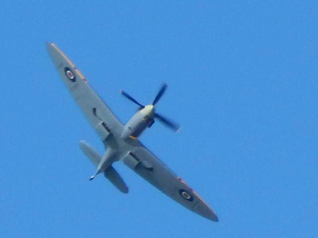 Ray Fox 1 - Spitfire flypast 4 March 2016