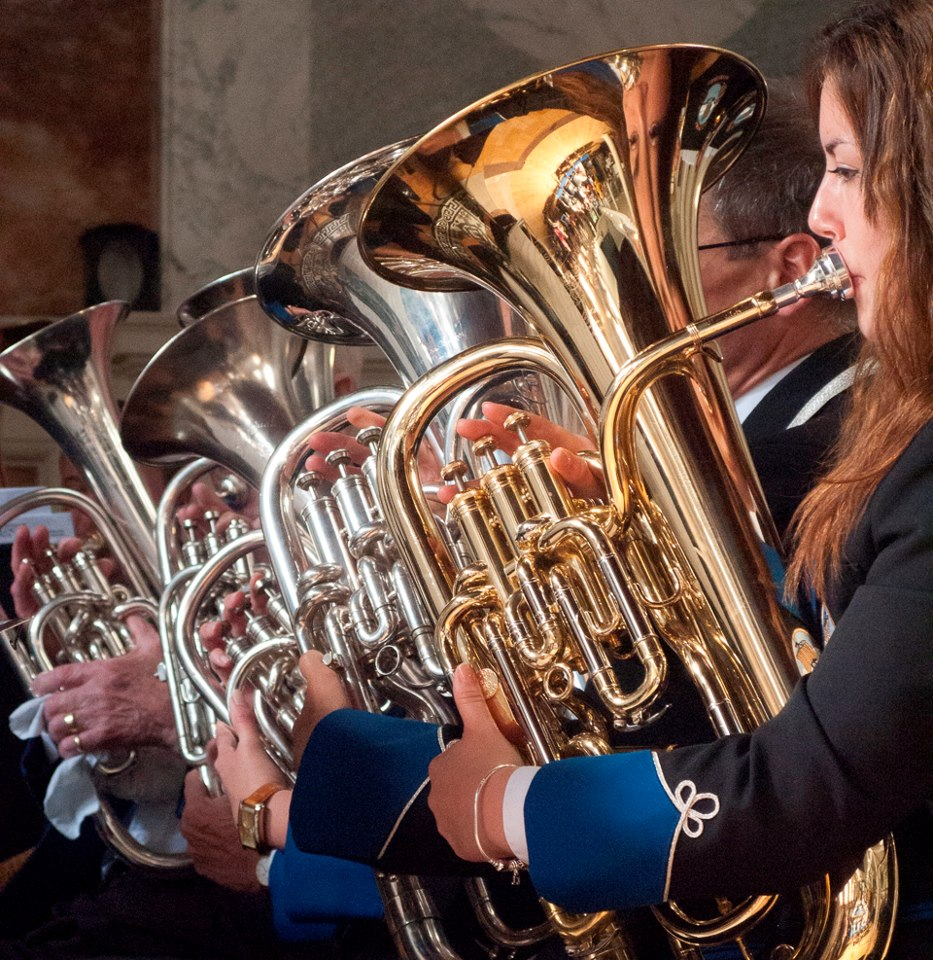 RCY Heritage Festival – Gosport Solent Brass plays 'Fanfare for Gosport' (Event from 2016)