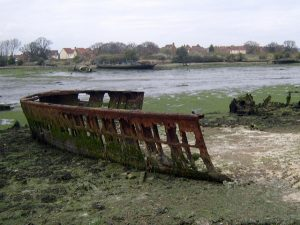 Forton Lake Wrecks