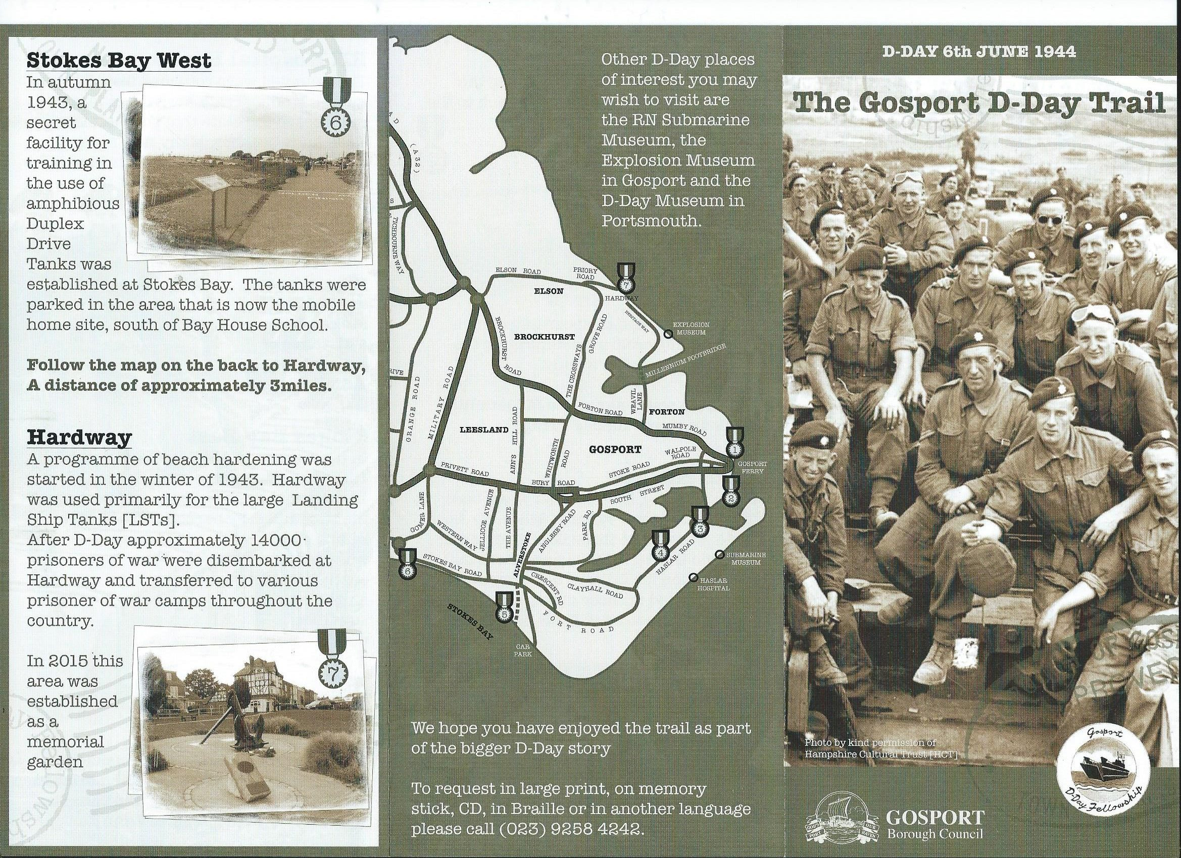 D-Day Trail page 1