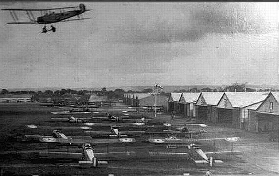 The School Of Special Flying Grange Airfield Gosport About