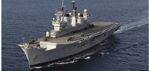 Goodbye to HMS Illustrious