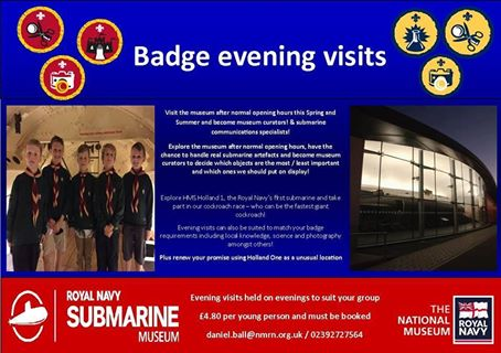 Badge evening visits