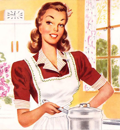 The 1950's Housewife  (Event from 2018)