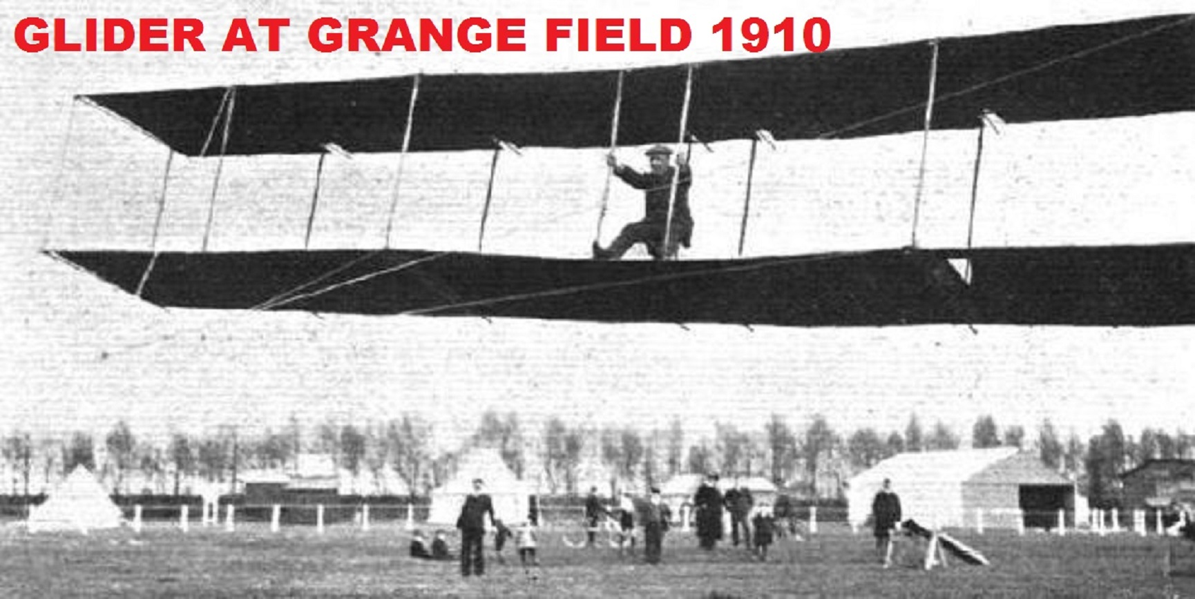 Grange Airfield: Teaching the World to Fly  (Event from 2018)