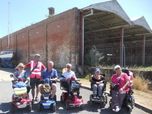 Haslar Peninsula ScootAbout AND WalkAbout (Event from 2019)