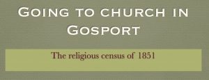 Going to Church in Gosport 1851 (Event from 2019)