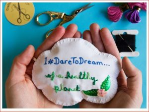 'Dare to Dream' craftivism workshop