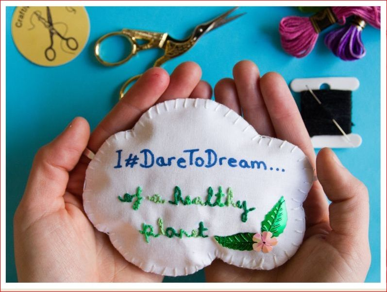 'Dare to Dream' craftivism workshop (Event from 2019)