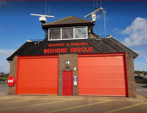 Behind the Doors of Gosport Lifeboat Station