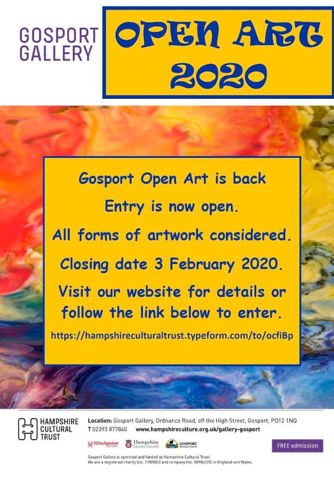 OPEN ART 2020 at Gosport Gallery