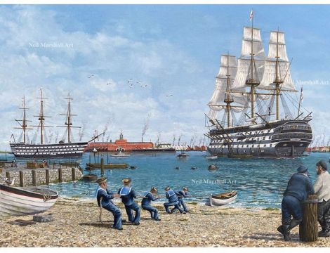18 Gosport Artist – Neil Marshall talks about his 'historic place' paintings