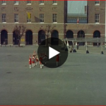 Link to video of Beating Reatreat 1955