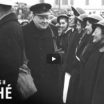 Link to video of Churchill At Portsmouth (1941)