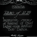 Link to video of Funeral Of Member Of Crew Of H.29 Submarine (1926)