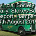 Link to video of Gosport Bus Rally, 4th August 2019
