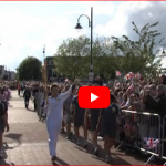 Link for video of Gosport Olympic Torch - Malcolm Dent