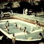 Link to video of Gosport Swimming baths showing fountain - Malcolm Dent