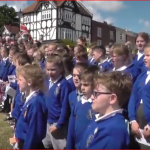 Link for video of Hardway D Day celebrations with children from Elson and St John's School choirs - Malcolm Dent