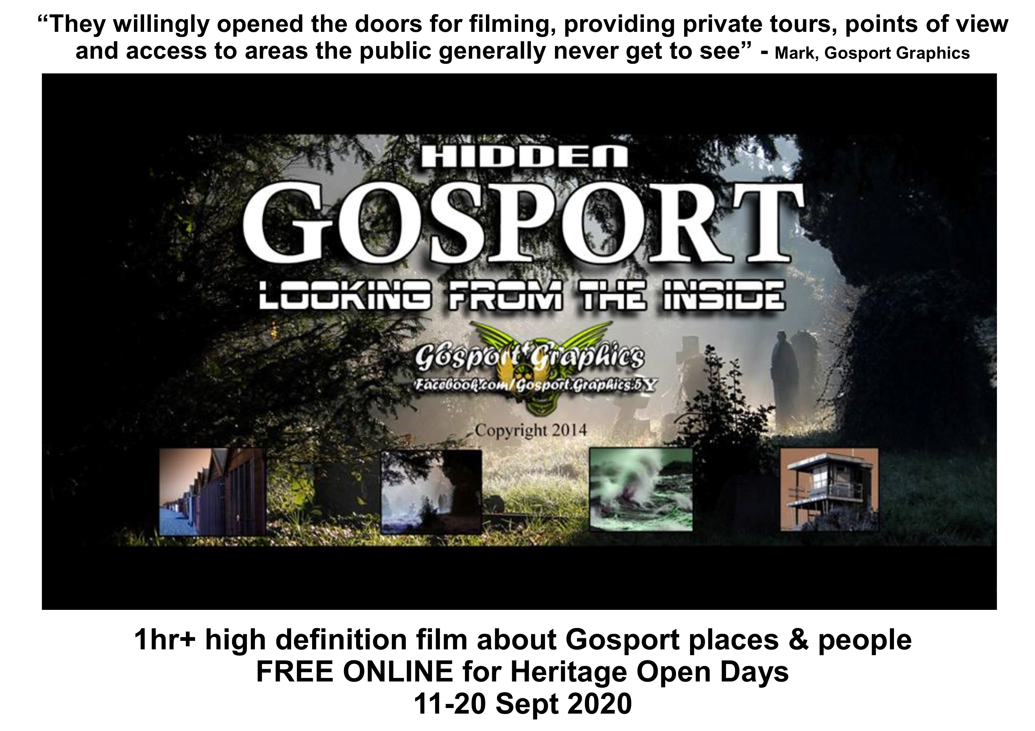 HIDDEN GOSPORT: looking from the inside