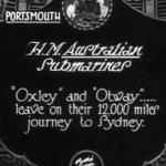 Link to video of Hm Australian Submarine (1928)