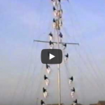 Link to video of Mast Manning Display at HMS Daedalus Lee-on-the-Solent