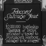 Link to video of Record Salvage Feat (1931)